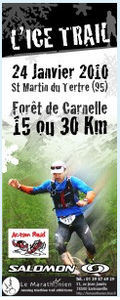 Affiche de l' ICE TRAIL 2010