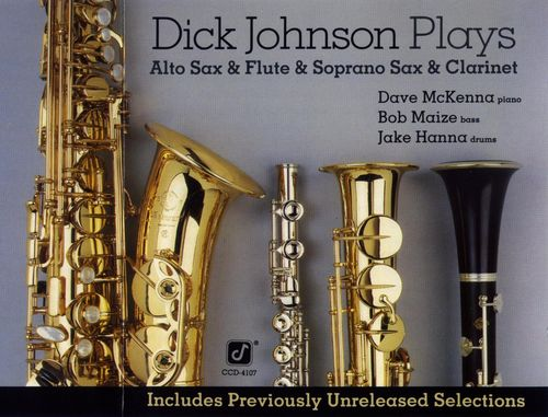 Dick Johnson Quartet - 1979 - Play Alto Sax, Flute, Soprano Sax & Clarinet (Concord Jazz)