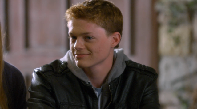 Sean Berdy as Emmett Bledsoe in Switched at Birth S01E01