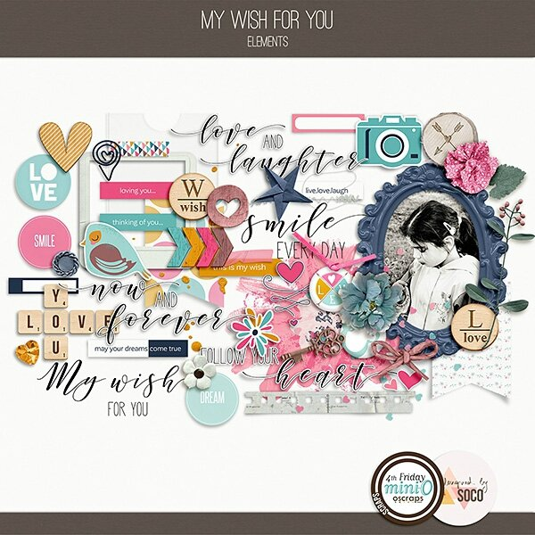 Designed by Soco_My Wish For You_elements