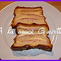 Cake de croque-monsieur