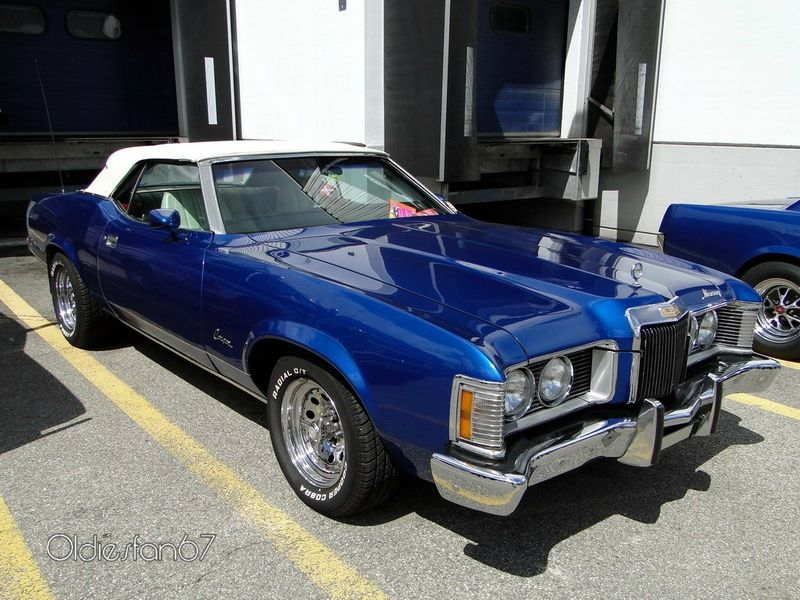 Mercury Cougar XR-7 Convertible, 1973