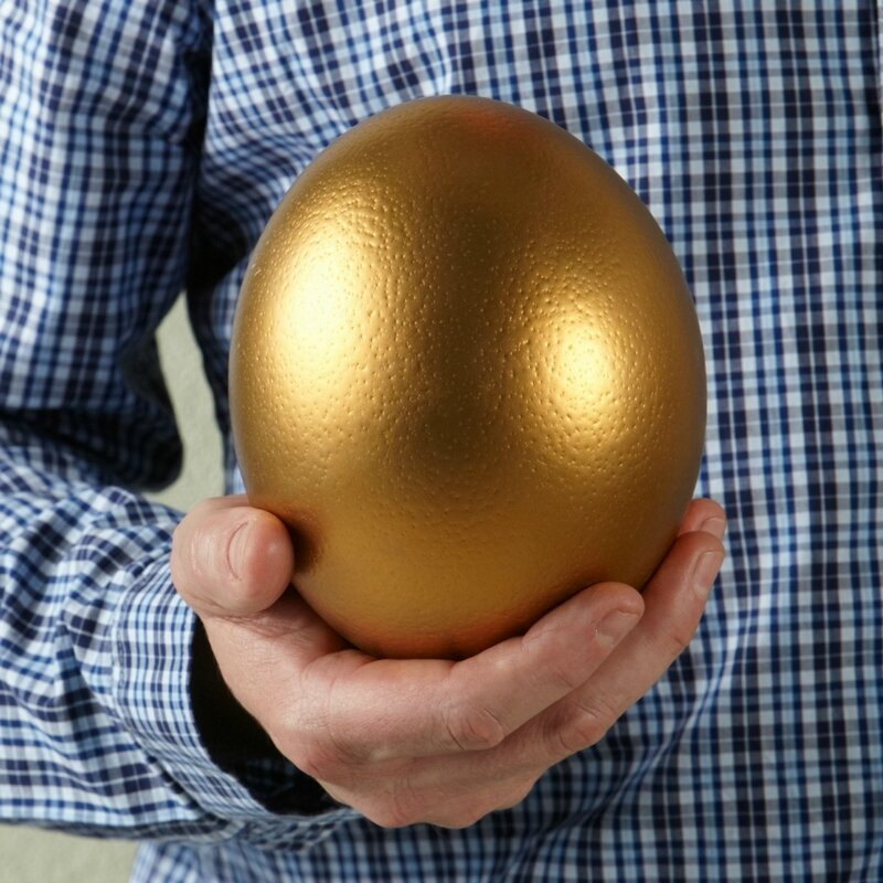 oeuf d'or