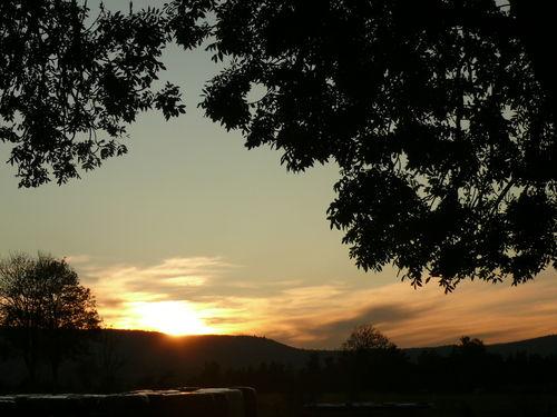 2008 10 11 Le coucher du soleil
