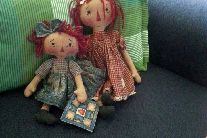 Patch Annie et Anky Ann