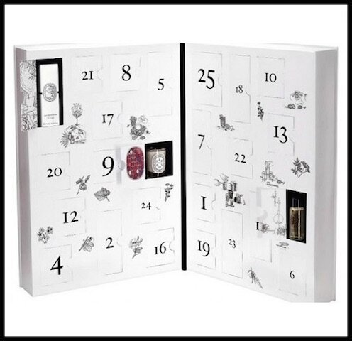 calendrier de l 39 avent diptyque le blog de moon. Black Bedroom Furniture Sets. Home Design Ideas