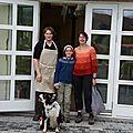 Visite à la hespuhúsið la semaine dernière