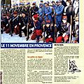 Dfil du 11 novembre 2005 a Aix en Prove