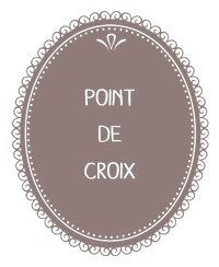 2) Point de croix