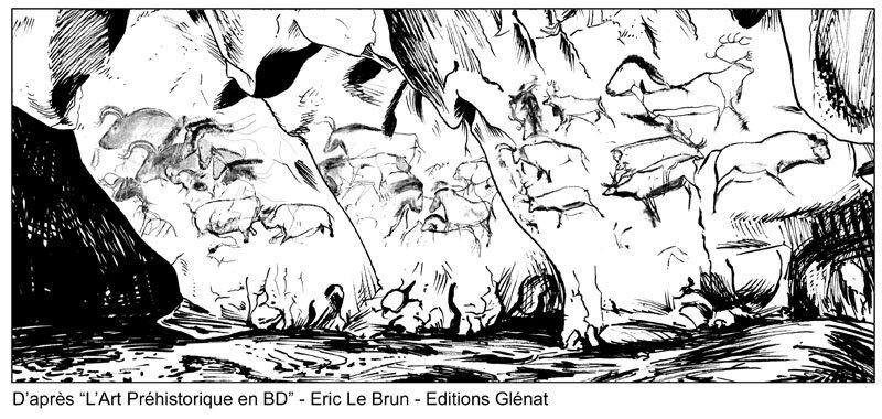La caverne r plique de la grotte chauvet pont d 39 arc eric le brun paleos blog - Coloriage grotte ...