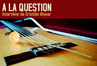 Interview de Cristian Alvear