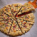Pizza cookie ! (cookies de laura todd)