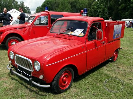 renault 4 VPI pompiers, 1963, retro meus auto madine 2012 3