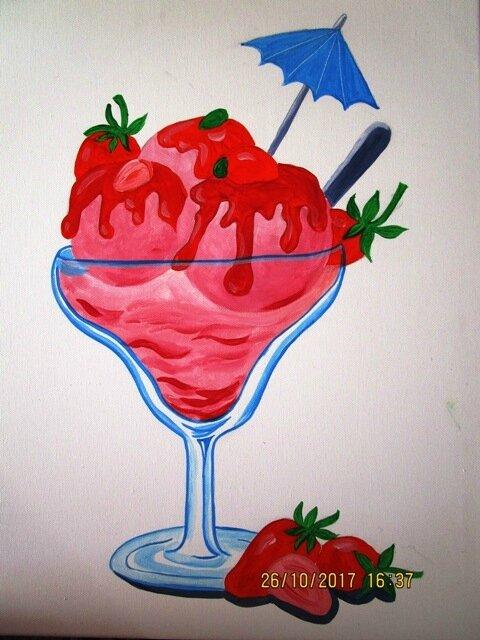 coupe de glace à la fraise 009