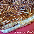 Galette à la pâte à tartiner - pâte feuilletée rapide maison