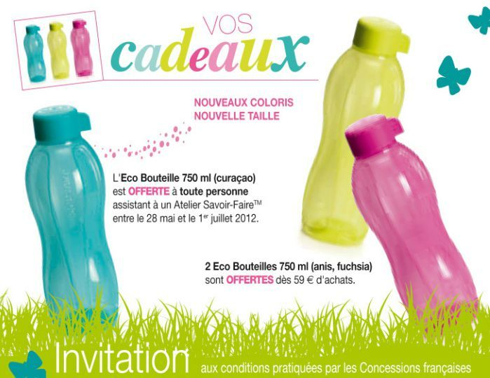 Carte Invitation Tupperware