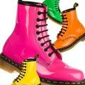 La mythique 1.4.60 de Dr Martens dcline en couleurs fluo
