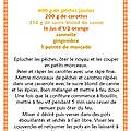 Une belle CONFITURE ORANGE ...