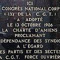 1906 - la charte d'amiens