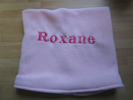 snood enfant rose