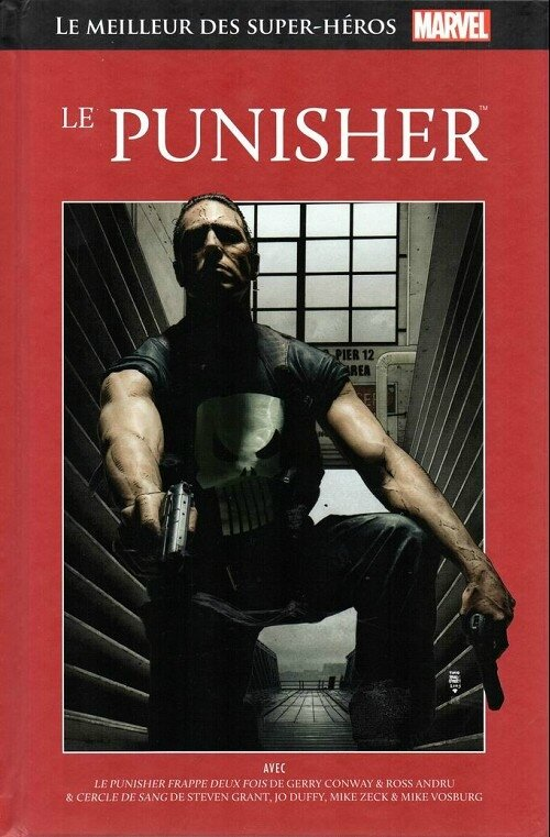 hachette 20 le punisher cercle de sang