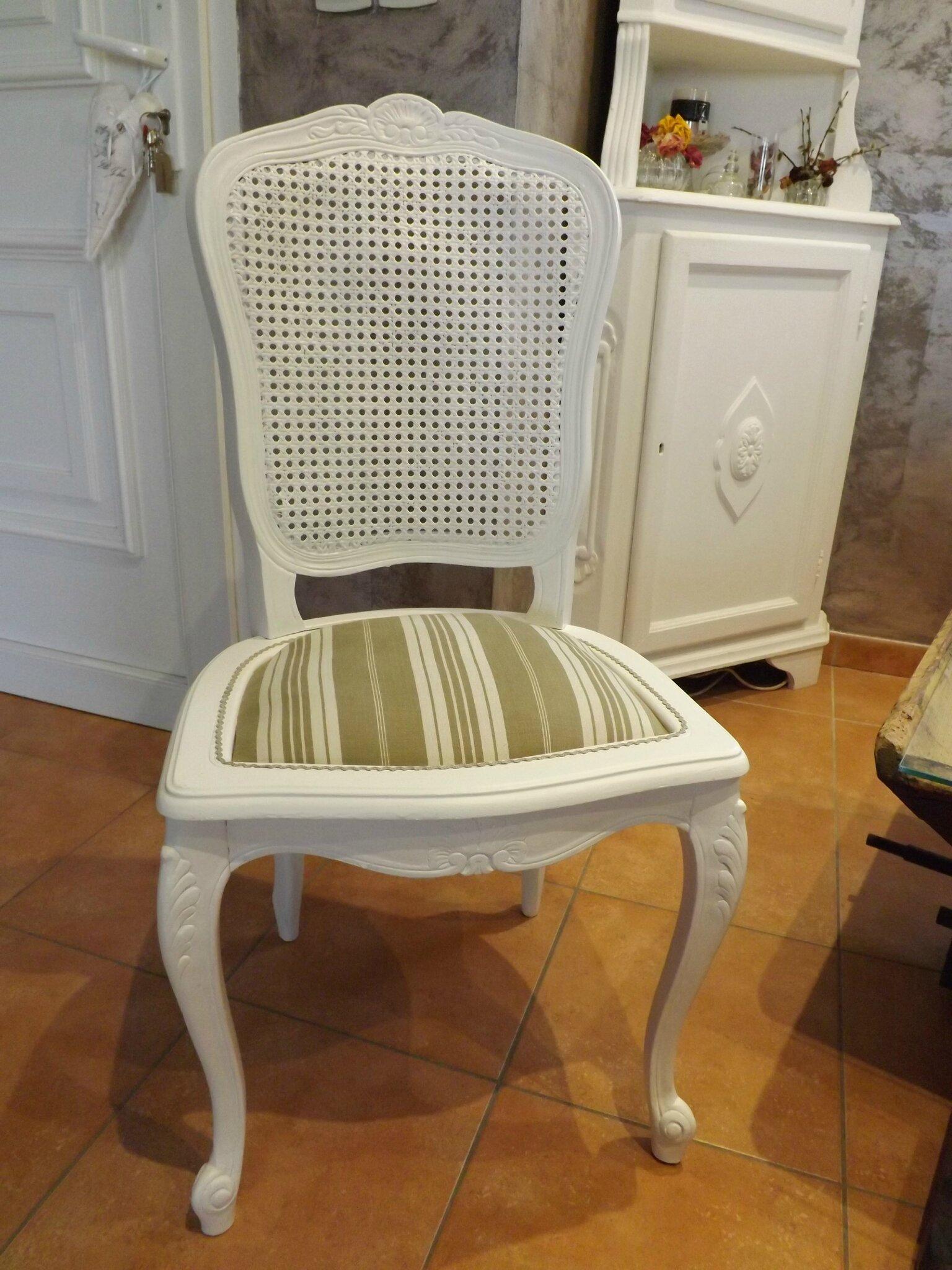 Relooking de meubles page 2 calinquette - Refaire assise chaise ...