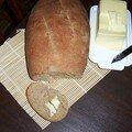 Mon premier pain!! pain de seigle polonais....je suis fière