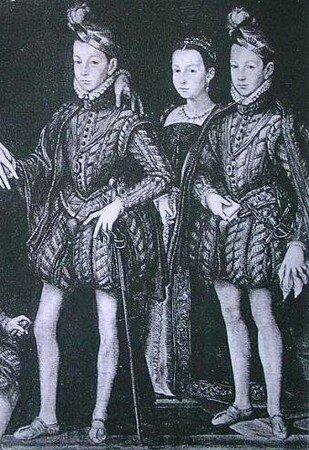 Charles IX, Marguerite et Henri