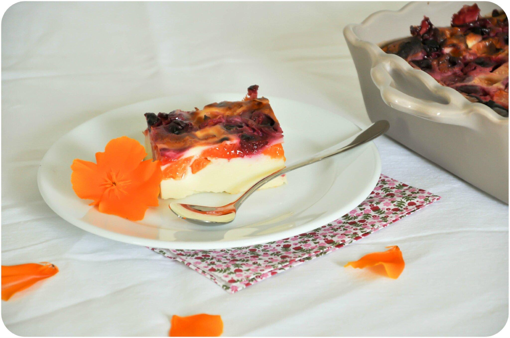 far breton aux abricots et aux cerises un dessert frais et fruit 233 blogs de cuisine