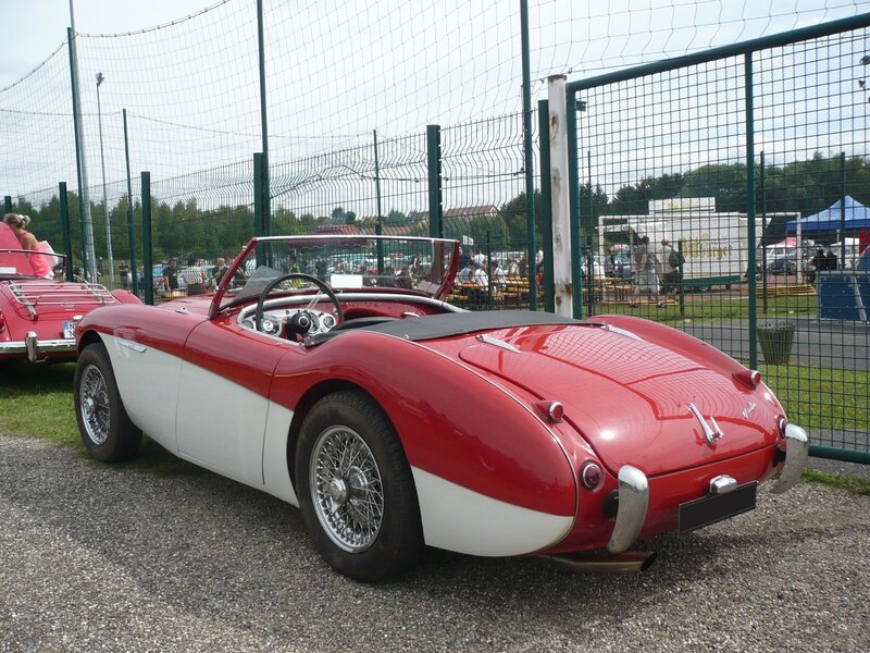 AUSTIN HEALEY 100 roadster Hambach (2)