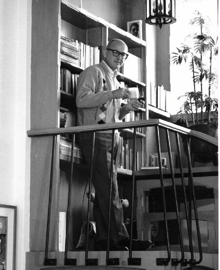 earle hagen on staircase