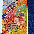 Art-journal et gribouillage : le rêve