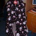 Bas de Pyjama offert par mon amie Melissa