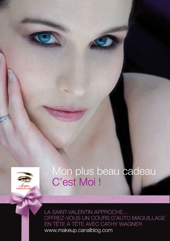 Campagne St-Valentin 2010 © Cathy Wagner EVEIL AU MAQUILLAGE