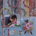Page 30 x 30 cm : Fleur