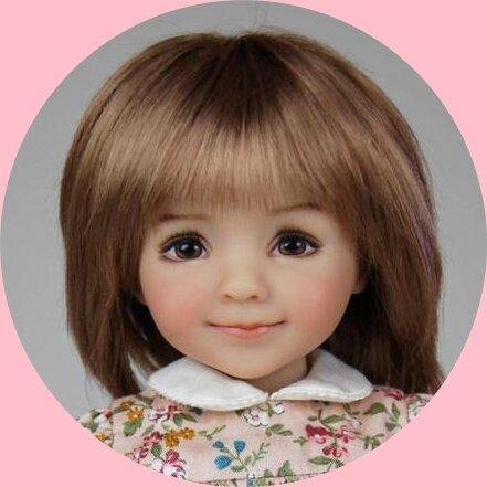 la nouvelle little darling #3 de Dianna Effner peinte par géri