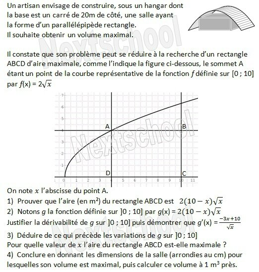 1ere derivation application aux variations 4 11