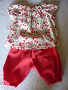 blouse & pantalon dvt Bertille