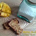 Barre de céréales mangue et noix de coco