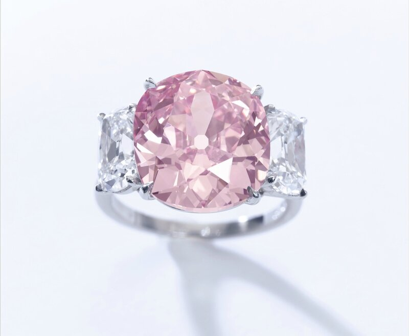 The Historic Pink Diamond – a 8