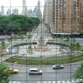 Rond-point à new-york (usa)