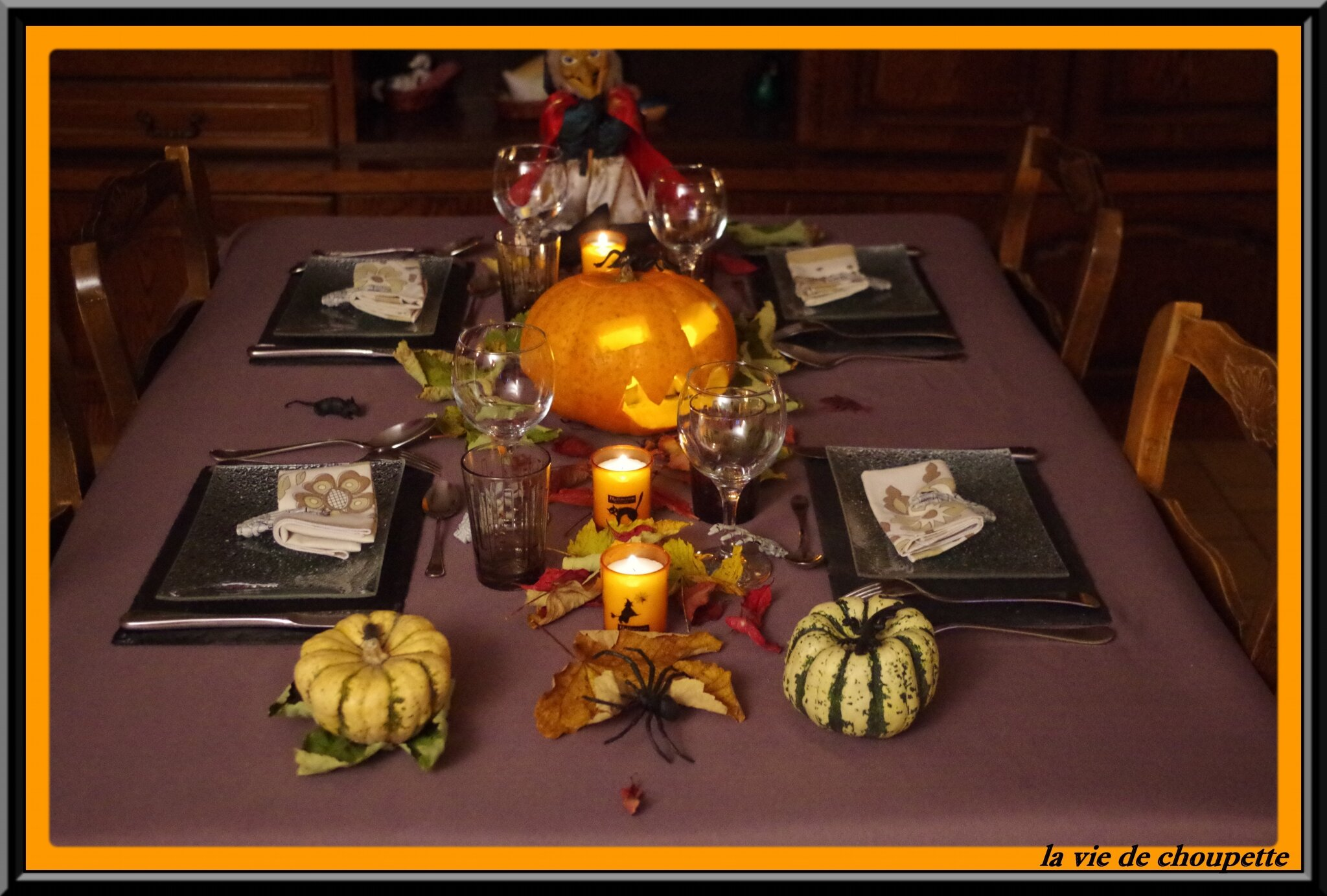 MA TABLE HALLOWEEN 2015