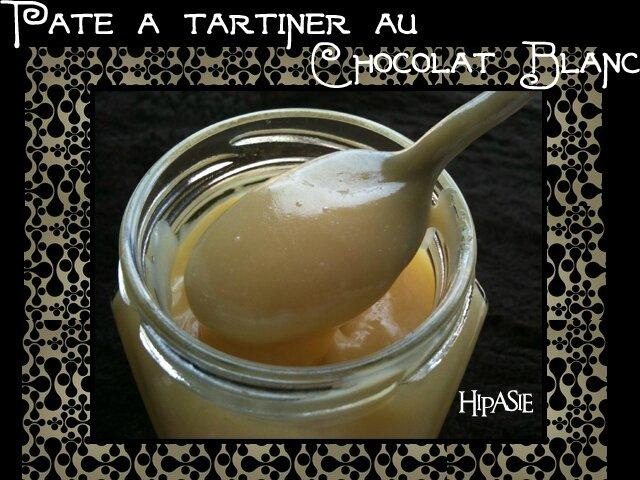 Pâte à tartiner au Chocolat Blanc