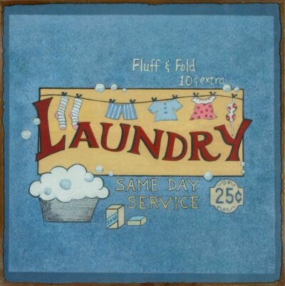 19108~Laundry-Posters