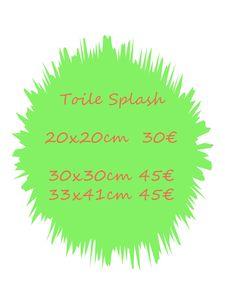 tarif splash