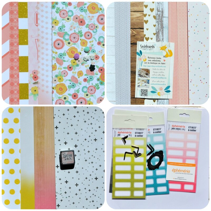 collage papiers