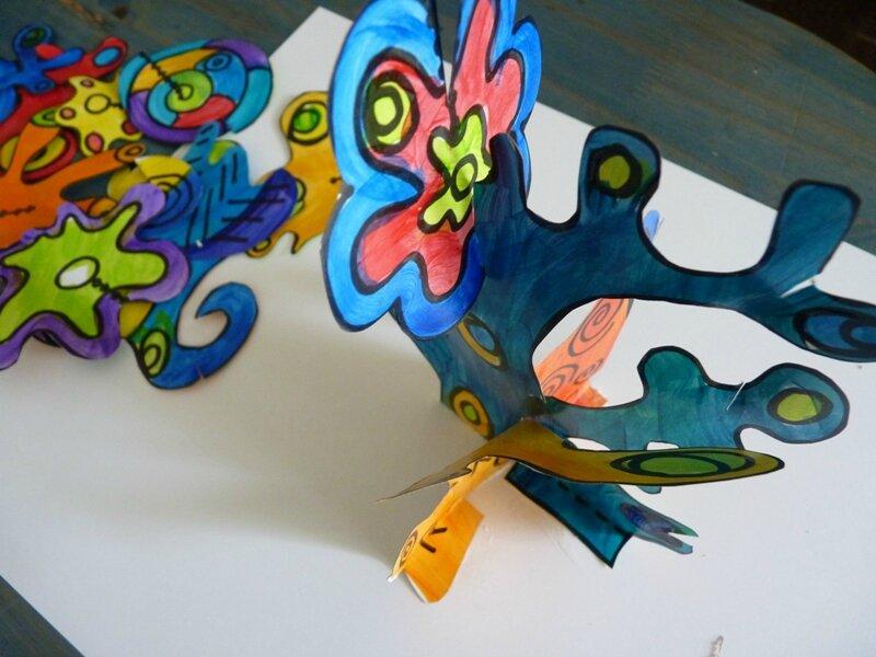 173_Compositions abstraites_Sculptures de papier32