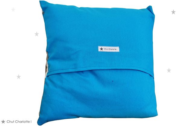 Coussin L'Homme bleu (2bis)