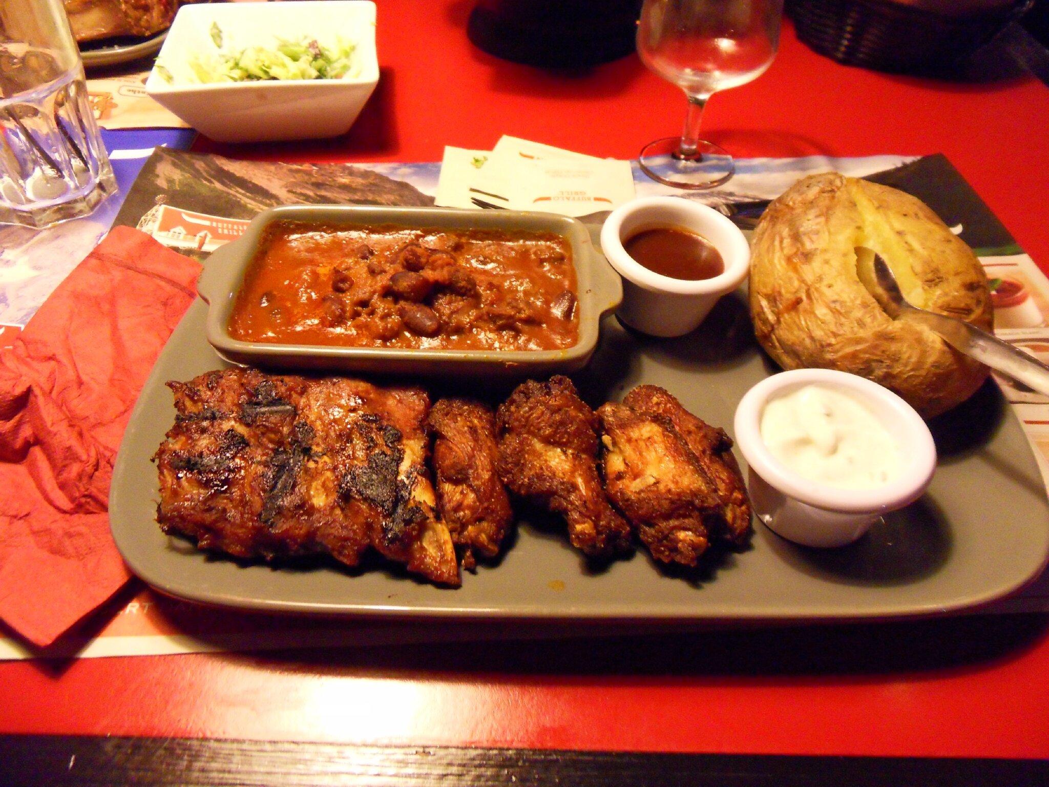 Buffalo grill voyagesvacances - Menu buffalo grill tarif ...