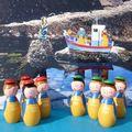 pêcheurs bâbord tribord